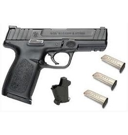 "Smith & Wesson Smith & Wesson SD9 All Black 9mm Semi Auto 4.25""barrel KIT (12002-KIT)"