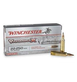 Winchester Winchester 22-250 Rem 55GR Varmint X (X22250P)