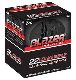 CCI CCI Blazer Rimfire Bulk Pack 38gr 525 rounds (10022)