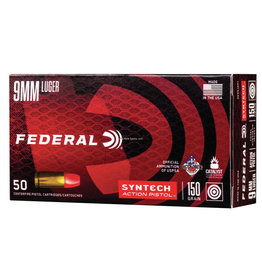 Federal Federal Syntech 9mm Luger 150gr 50ct (AE9SJAP1)