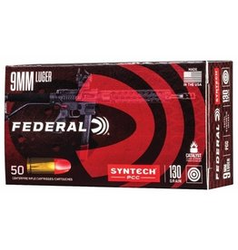 Federal Federal AE9SJPC1 Syntech PCC 9mm Luger 130gr TSJ 50rnds