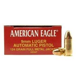 American Eagle Federal American Eagle 9mm 124gr FMJ (AE9AP)