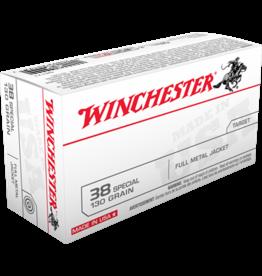 Winchester Winchester Pistol ammo 38 spl FMJ 130gr 800fps 50rds (Q4171)