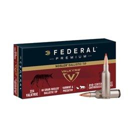 Federal Federal Premium 224 Valkyrie 60gr bt 20rds (P224VLKBT1)