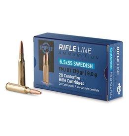 PPU PPU 6.5 X 55 Swedish FMJ BT 139gr ammo (PP6SWF)