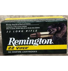 Remington Remington Viper 22LR 36gr 50ct Hyper Velocity Truncated Cone (1922)