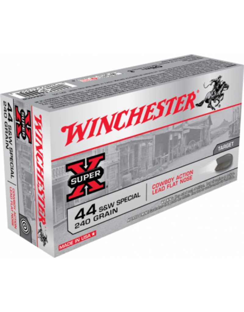 Winchester Winchester 44 S&W Special 240gr cowboy lead