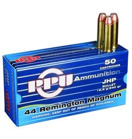 PPU PPU 44 Mag 240gr JHP 1440 fps 50rd (PPH44MH)