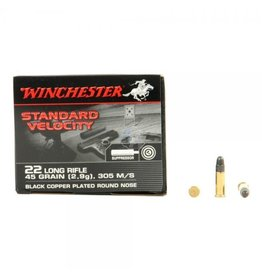 Winchester Winchester 22 LR 45gr Low noise/Stn Velocity 235rd (S22LRTSVE)
