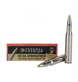 Federal Federal Premium 30-06 sprg 180gr trophy bonded (P3006TT1)