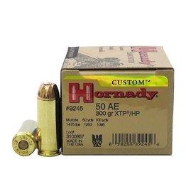 Hornady Hornady .50 AE 300gr xtp/hp ammo 20 per box (9245)