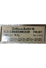 Sellier & Bellot Sellier & Bellot 6.5 Creedmoor 140gr FMJBT (2905)