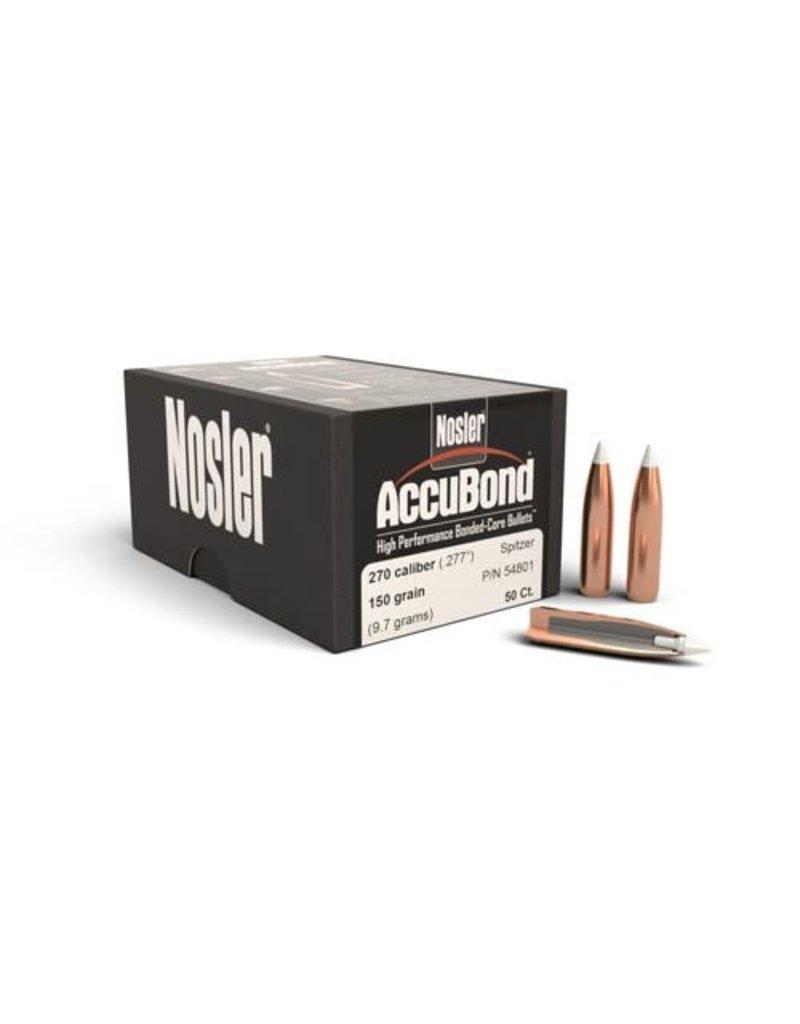 Nosler Nosler AccuBond 270cal 150gr 50box (54801)