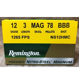 "Remington Remington 12ga Nitro Steel Mag 3"" 1 3/8 oz BBB (NS12HMC)"