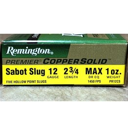 """Remington Remington Premier 12ga 2 3/4"""" Copper Sabot SL (PR12CS)"""
