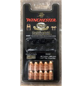 Winchester Winchester 50 cal Partition Gold 260 gr sabot slug Muzzleloading 10pk (WML260P)