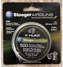 Stoeger Stoeger Pellets .177 X-Hunter 8.64gr 500pk (545035)
