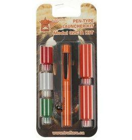 Tru Flare Tru Flare Pen Launcher Kit 3 Flares & 2 Bangers (02CAKIT)