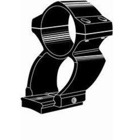 "Kwik mount Kwik Mount See Thru Silver 1"" Weaver Style Rings (11103)"