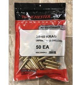 Winchester Winchester 30-40 KRAG unprimed brass 50ct (WSC3040KU)