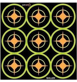 """Allen Allen Ez See Aiming Dots 2"""" targets 9 dots per sheet (15252)"""