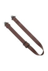 """Allen Allen 8432 Slide & Lock Leather Rifle Sling, 1.25"""", W/Swivels"""