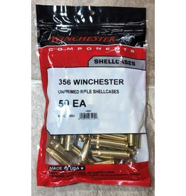 Winchester Winchester 356win unprimed brass 50ct (WSC356U)