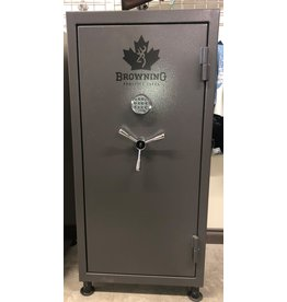 Browning Browning CLTDE33 33 Gun Safe, Gray finish w/ Canada leaf graphic, Electronic Lock (1605500087)