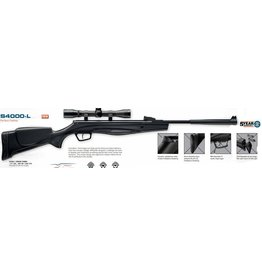 Stoeger Stoeger S4000L .177 cal full power airgun 1200FPSblk syn stock (S82001L)