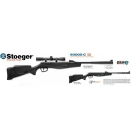 Stoeger Stoeger S3000C .177cal Synthetic Combo rilfe and 4x32 Scope, 495fps (S80513C)