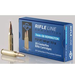 PPU PPU Rifle Line 7mm-08 Rem 140gr PSP BT 20rnd (PP708)