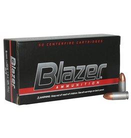 Blazer CCI Blazer Aluminum 9mm 124gr FMJ 50rd box (3578)