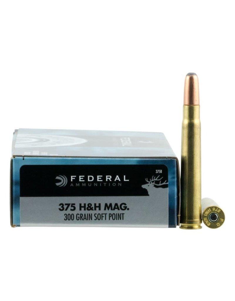 Federal Federal 375 H&H Mag 300gr SP (375B)