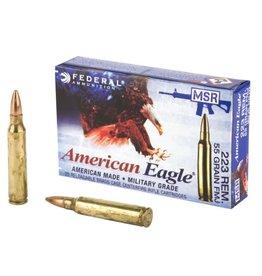 Federal Federal American Eagle 223 Rem 55gr FMJ 20rd box (AE223J)