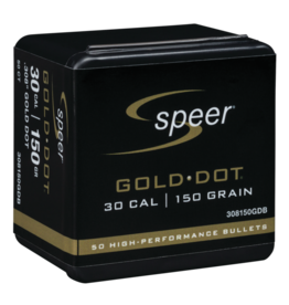 Speer Speer .308dia 30Cal 150gr Gold Dot 50ct (308150GDB)