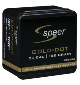 Speer Speer .308dia 30Cal 168gr Gold Dot 50ct (9308168GDB)