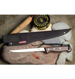 "Grohmann Knives Grohmann Fillet Knife 7"" w/Rosewood Handle & Cordura Sheath (RFC700S)"