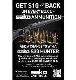Sako Sako Ammunition $10 BACK