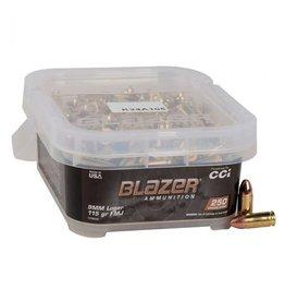 CCI CCI Blazer 9mm Luger 115gr FMJ Ammo 250 rds (5200b250)