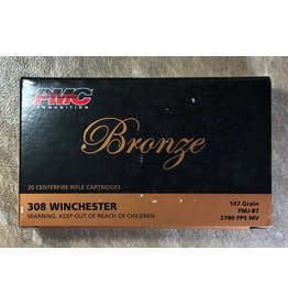 PMC PMC 308 Win 147gr FMJ BT (PMC308B)