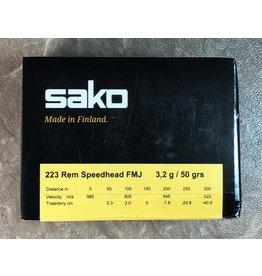 Sako Sako Range Speedhead 223Rem 50gr FMJ 100rnds