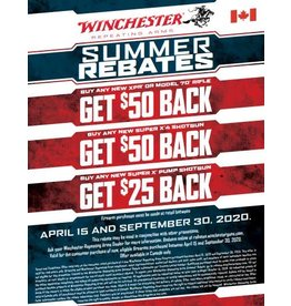 Winchester Summer Rebate 2020