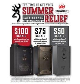 Browning Browning Summer Relief Safe Rebate