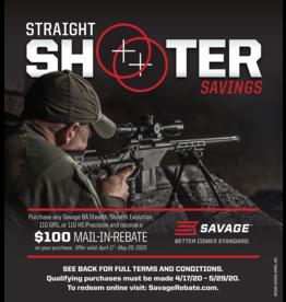 Savage Arms Savage Straight Shooter Savings