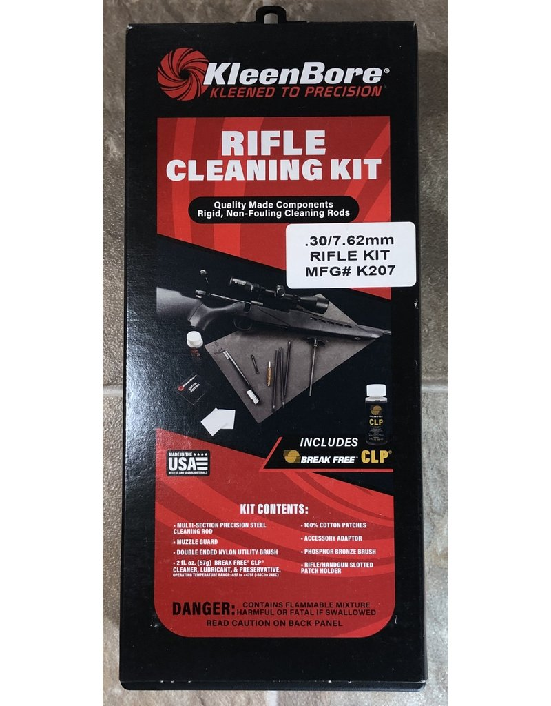 Kleen Bore Kleen Bore 30cal Rifle Cleaning Kit (K207)