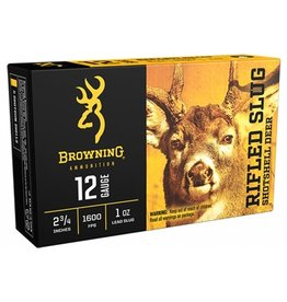 "Browning Browning 12 ga 2 3/4"", 1oz, Rifled Slug, 5 rnd (B193121221)"