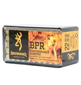 Browning Browning BPR 22 WMR 40gr JHP 50rd box (B195122050)