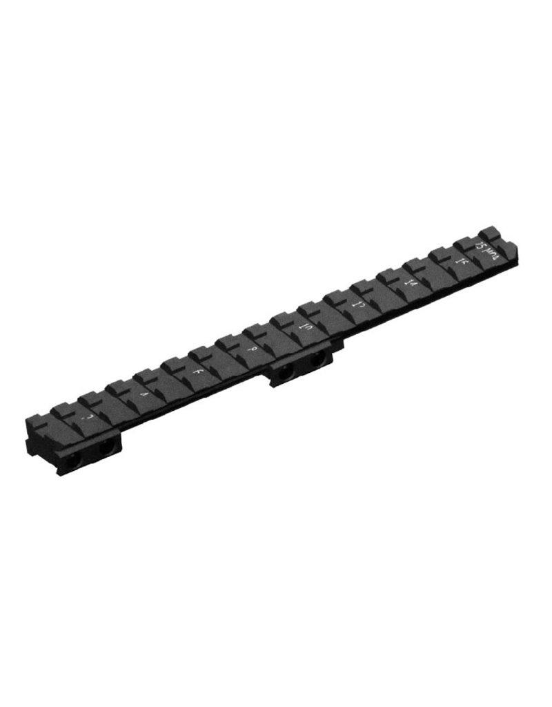 CZ CZ  Weaver Rail For 527 Rifle Black (1070-9040)