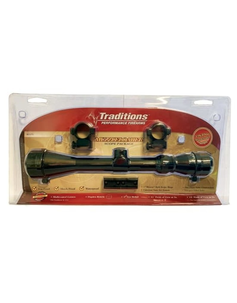 Traditions Traditions 3-9x40 Matte Scope w/ Duplex Reticle  (A1171)