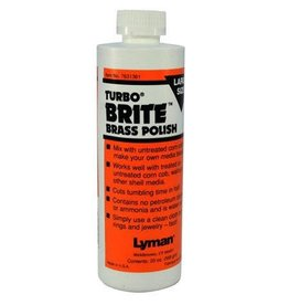 Lyman Lyman Turbo Brite Brass Polish 20 oz (7631361)